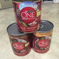 Purina ONE SmartBlend True Instinct Classic Ground with Real Turkey & Venison Dog Food 13 oz. Can uploaded by Christy D.