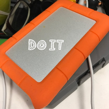 Photo of LaCie USB 3.0 1TB Rugged Mini Hard Drive uploaded by Rachel S.