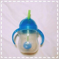 Photo of Munchkin 7oz Weighted Straw Sippy Cup uploaded by Lizbeth G.