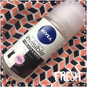 Photo of Nivea Invisible Black & White Deodorant Roll-On uploaded by Helia R.
