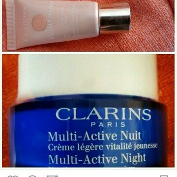 NEW Clarins Multi-Active Day & Night Creams uploaded by Ines G.