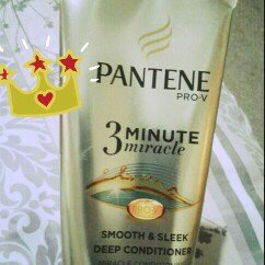 Photo of Pantene 3 Minute Miracle Smooth & Sleek Deep Conditioner uploaded by Melva A.