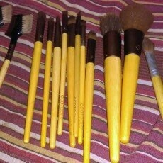 Ecotools Makeup Brushes  uploaded by Diamond B.