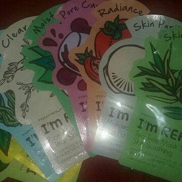 Tony Moly - I'm Real Avocado Mask Sheet (Nutrition) 10 pcs uploaded by Tie G.