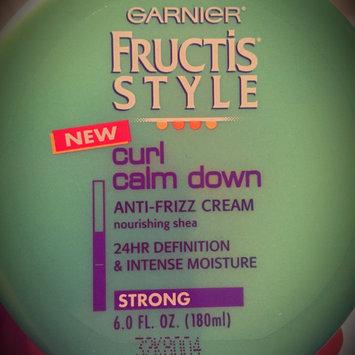 Photo of Garnier Fructis Style Curl Calm Down Anti-Frizz Cream uploaded by Cynthia V.