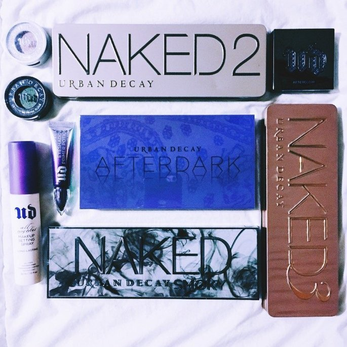 Urban Decay Afterdark Eyeshadow Palette uploaded by Malena R.