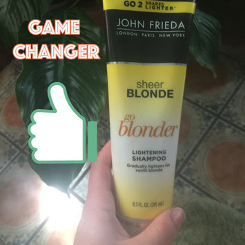 Photo of John Frieda® Sheer Blonde Go Blonder Lightening Shampoo uploaded by Stephanie G.