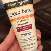 Neutrogena® Clear Face Break-Out Free Liquid Lotion Sunscreen Broad Spectrum SPF 30 uploaded by Kendra H.
