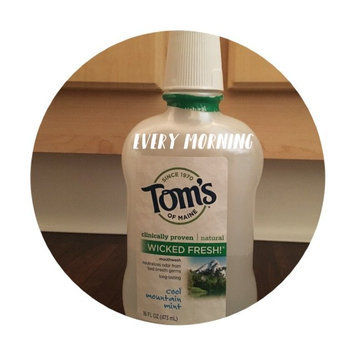 Photo of Tom's of Maine Wicked Fresh! Long Lasting Mouthwash uploaded by Robyn G.