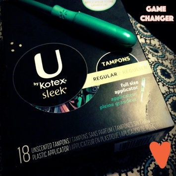 Photo of U by Kotex Sleek Unscented Tampons uploaded by Jasmine R.