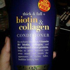 OGX® Biotin & Collagen Conditioner uploaded by Costadina K.