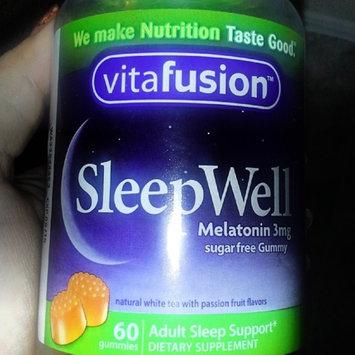 Vitafusion SleepWell Gummy Sleep Support for Adults uploaded by Amanda O.