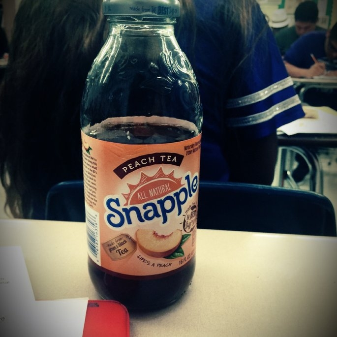 Snapple All Natural Peach Tea uploaded by keila G.