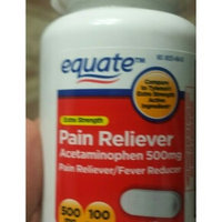 Equate Extra Strength Fever Reducer Pain Reliever Acetaminophen uploaded by Melanie S.