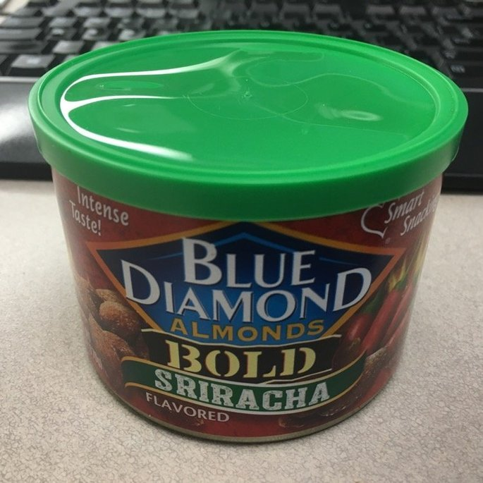 Blue Diamond Almonds Bold Sriracha uploaded by Christina V.