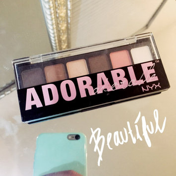 NYX The Adorable Adorable Shadow Palette uploaded by Isadora N.