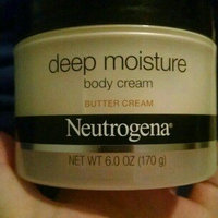 Neutrogena® Deep Moisture Body Cream, Butter Cream uploaded by Brook H.