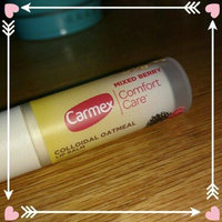 Carmex Comfort Care Mixed Berry Colloidal Oatmeal Lip Balm, .15 oz uploaded by Kathryn R.