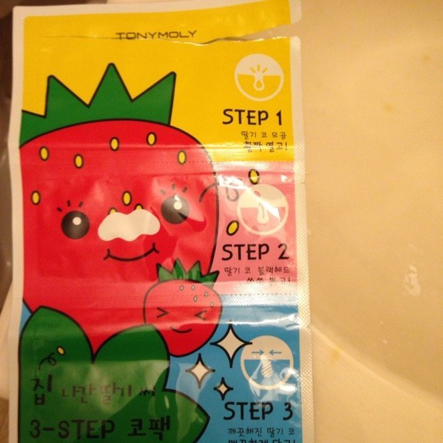 Tony Moly Strawberry Nose Pack uploaded by Mayra P.