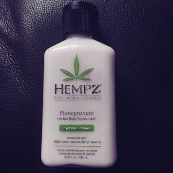 Photo of Hempz Pomegranate Herbal Moisturizer uploaded by Jo-Anne N.