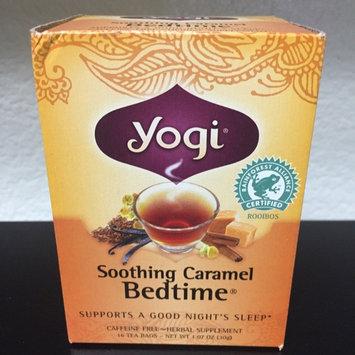 Yogi Tea Herbal Tea Soothing Caramel Bedtime uploaded by Vanna L.