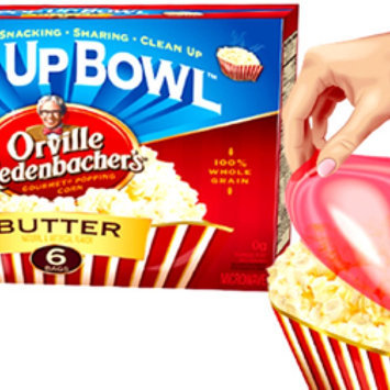 Photo of Orville Redenbacher's Movie Theater Butter Popcorn Pop Up Bowl - 3 CT uploaded by Laura R.