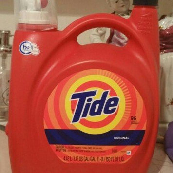 Photo of Tide Original Scent HE Turbo Clean Liquid Laundry Detergent uploaded by Rebeca F.