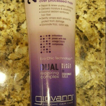Photo of Giovanni 2Chic 8.5 oz Ultra-Repair Blackberry & Coconut Milk Conditioner uploaded by Jasmine B.