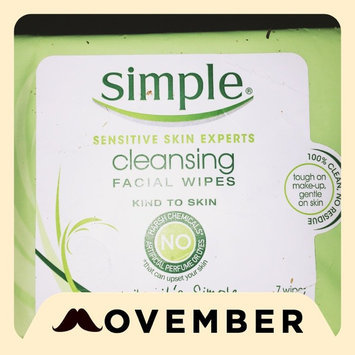 Simple® Eye Makeup Remover Pads uploaded by Katy m.
