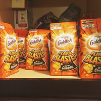 Goldfish® Flavor Blasted® Xtra Cheddar Baked Snack Crackers uploaded by Caitlin C.
