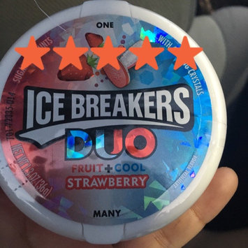 Ice Breakers Duo Strawberry Sugar Free Mints uploaded by Kristyna J.