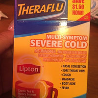 Theraflu Multi-Symptom Severe Cold Packets Lipton Green Tea & Honey Lemon Flavors - 6 CT uploaded by Tantanea J.