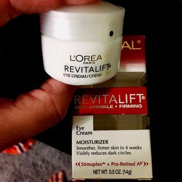 L'Oréal RevitaLift Complete Anti-Wrinkle Moisturizer Eye Cream uploaded by Melissa C.