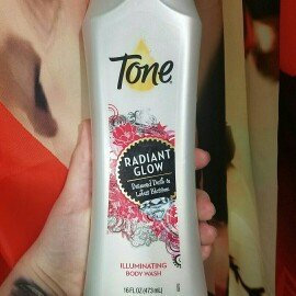 Tone® Radiant Glow Diamond Dust & Lotus Blossom Illuminating Body Wash 16 fl. oz. Bottle uploaded by Brooke R.