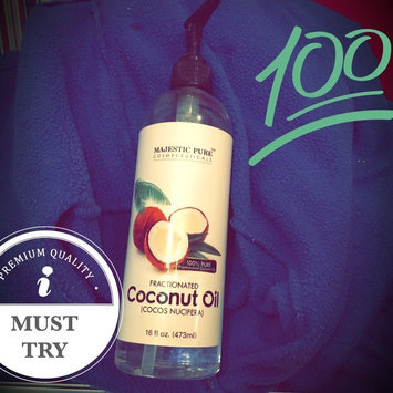 Photo of Majestic Pure Fractionated Coconut Oil 16 Oz uploaded by Alicia H.