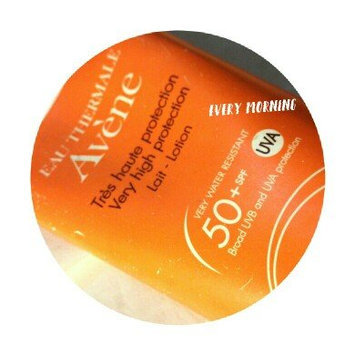 Photo of Avène Hydrating Sunscreen Lotion SPF 50+ (Face & Body) uploaded by Rocio V.
