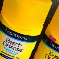 Neutrogena® Beach Defense® Water + Sun Protection Sunscreen Lotion Broad Spectrum SPF 30 uploaded by Samantha  R.