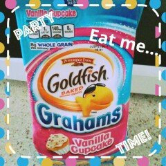Pepperidge Farm Goldfish Grahams Vanilla Cupcake Graham Snacks uploaded by Melisabeth R.