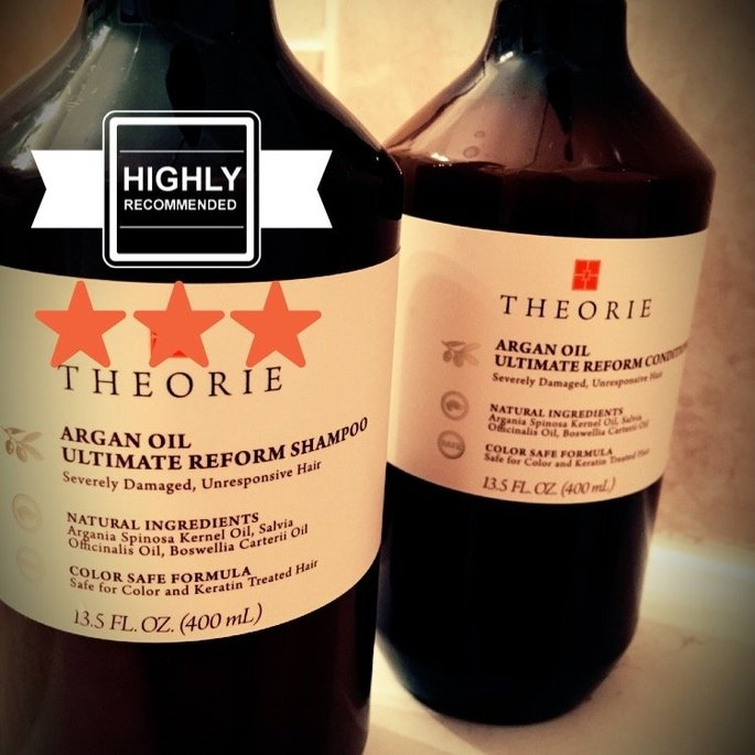 Theorie Argan Oil Ultimate Reform Shampoo uploaded by Linda H.
