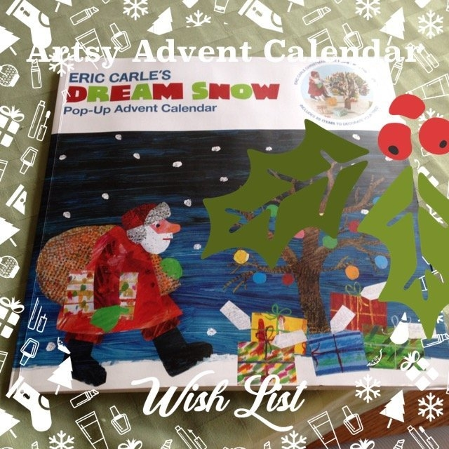 Chronicle Books The World of Eric Carle(TM) Eric Carle's Dream Snow Pop-Up Advent Calendar uploaded by TammyJo E.