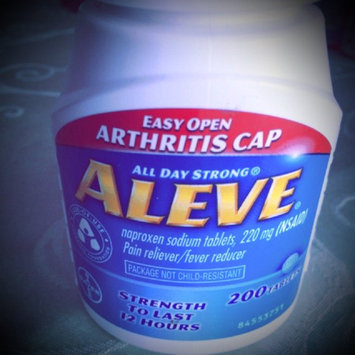 Aleve Tablets with Easy Open Arthritis Cap uploaded by Karen S.
