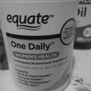 Equate One Daily Women's Multivitamin Multimineral Supplement uploaded by liz m.