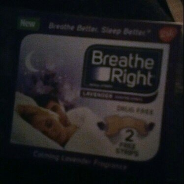 Breathe Right Lavender Scented Nasal Strips uploaded by Tay S.