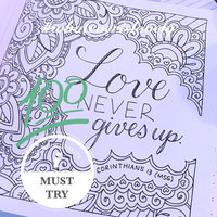 Whatever Is Lovely: A Coloring Book For Reflection And Worship uploaded by April W.