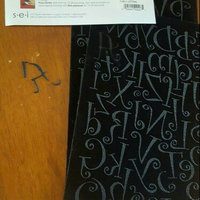 SEI 1-1/2-Inch Curly Letter Iron on Transfers, Black, 2 Sheet uploaded by M P.