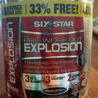 Six Star Pre Workout Explosion, Fruit Punch, .46 lb uploaded by Cynthia H.