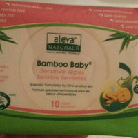Aleva Naturals Bamboo Baby SENSITIVE Wipes Sensitive (5+1), 432 ea uploaded by T B.