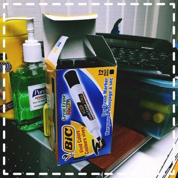 Photo of BIC Great Erase(R) Bold Dry Erase Marker (Chisel, Black) [PK/12]. Model: BICDEC11BK uploaded by Angela P.