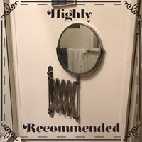Jerdon Wall Mount Mirror 8 inch w/ 7X Magnification and Nickel Finish uploaded by Heaven S.