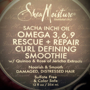SheaMoisture Sacha Inchi Rescue & Repair Curl Defining Smoothie uploaded by Justice C.